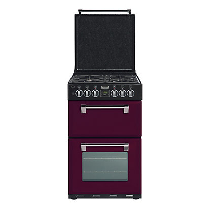 Image for Stoves Richmond 550DFW Dual Fuel Cooker - Wild Berry. from StoreName