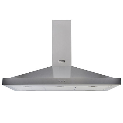 Image for Stoves S1100 Sterling Chimney Hood - Stainless Steel from StoreName