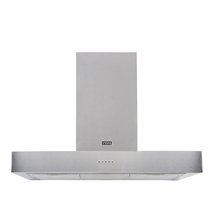 Image for Stoves S900 Sterling Flat Hood - 90cm - Stainless Steel from StoreName