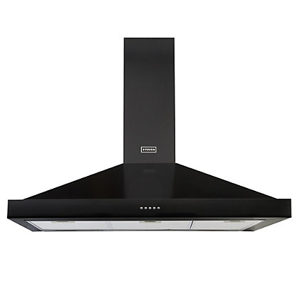 Image for Stoves S1000 Richmond Chimney Hood - 100cm - Black from StoreName