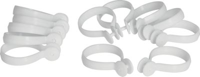 20 wooden 23mm curtain rings white shopez price