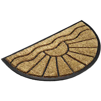 Image for Half Moon Coir Mat - 40x70cm from StoreName