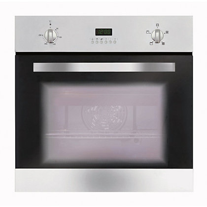 Image for Matrix MS002SS A Rated Four Function Electric Fan Oven - Stainless Steel from StoreName
