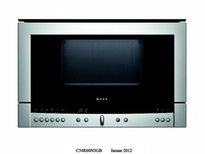 Neff C54R60N3GB Compact Microwave Oven - Stainless Steel