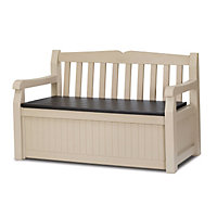 Keter Eden Bench Box - Cream / 265L