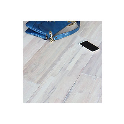 Image for Sample Portess Oak Solid Wood Oak Flooring - Antart White from StoreName
