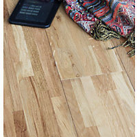 Sample Windsor Solid Wood Oak Flooring - Natural Brush Oak
