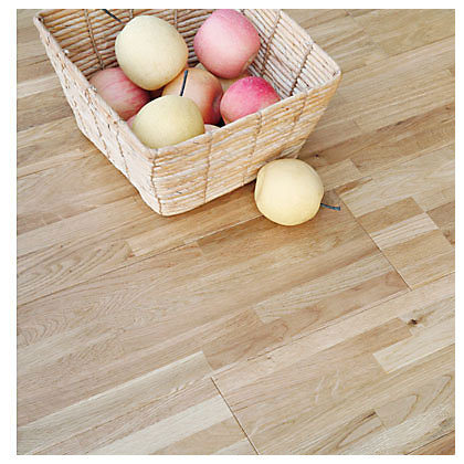 Image for Sample Sandringham Solid Wood Oak Flooring - Nat Laq Oak from StoreName