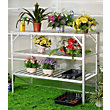 Nison - 3 Tier Greenhouse Staging - Silver