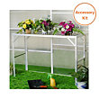 Nison Greenhouse Accessory Pack - 4ft x 6ft