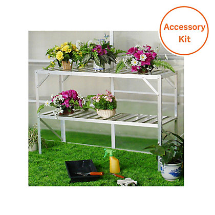 Image for Nison Greenhouse Accessory Pack - 6ft x 6ft from StoreName