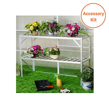 Image for Nison Greenhouse Accessory Pack - 8ft x 6ft from StoreName