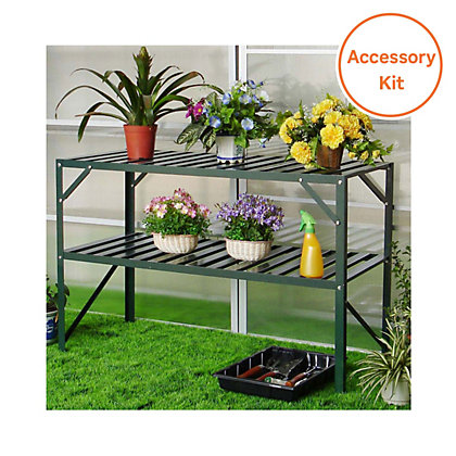Image for Nison Greenhouse Accessory Pack - 8ft x 8ft from StoreName