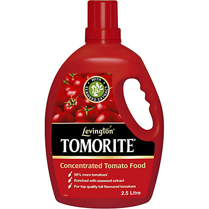 Image for Levington Tomorite Tomato Food with Seaweed Extract - 2.5L from StoreName