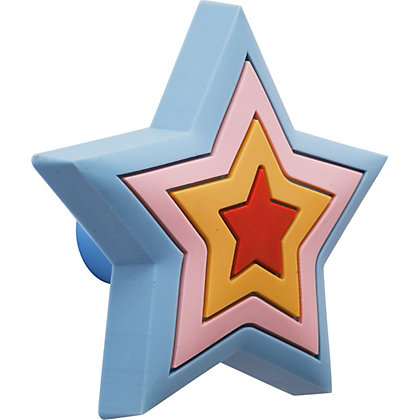 Image for Kids Rubber Star Cabinet Handle from StoreName