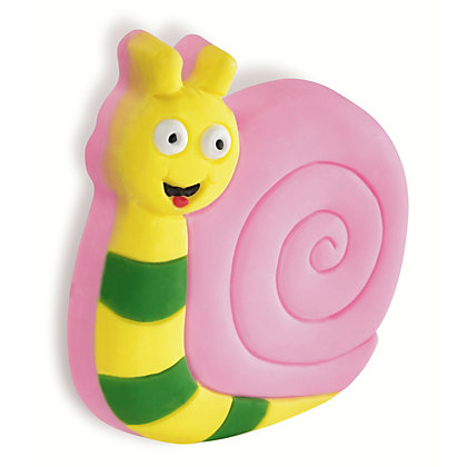 Image for Urfic Soft Kiddie Friendly Rubber Snail Cabinet Handle from StoreName