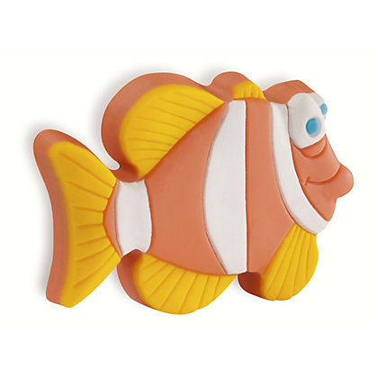 Image for Urfic Soft Kiddie Friendly Rubber Fish Cabinet Handle from StoreName