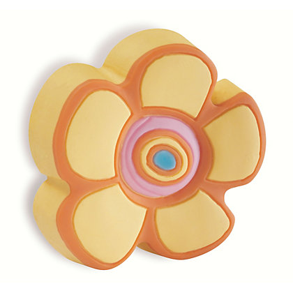 Image for Urfic Soft Kiddie Friendly Rubber Flower Cabinet Handle from StoreName