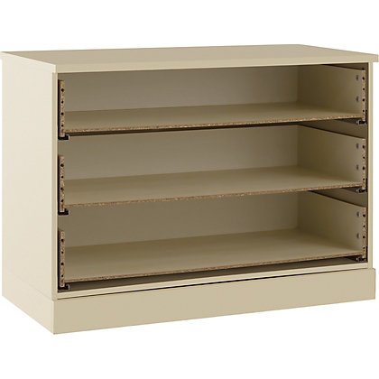 Image for Schreiber 3 Drawer Wide Chest - Classic Ivory from StoreName