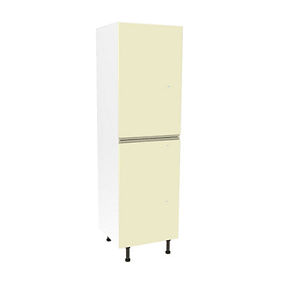Image for Simply Hygena Kensal Cream Larder/50:50 Fridge Freezer Housing Unit - 600mm from StoreName