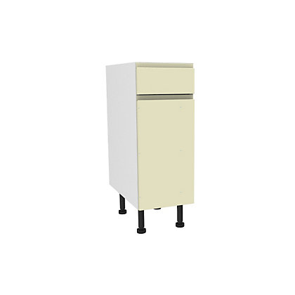 Image for Simply Hygena Kensal - Cream - 300mm Standard Drawer Line Base Unit from StoreName