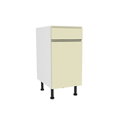 Image for Simply Hygena Kensal - Cream - 400mm Premium Drawer Line Base Unit from StoreName