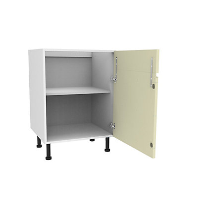 Image for Simply Hygena Kensal - Cream - 600mm Dummy Drawer Line Base Unit from StoreName