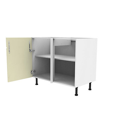 Image for Simply Hygena Kensal - Cream - 1000mm Dummy Drawer Line Base Unit from StoreName