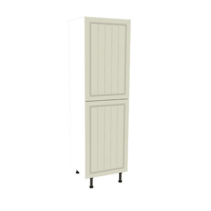 Image for Simply Hygena Chesham Cream Larder / 50:50 Fridge Freezer Housing - 600mm from StoreName