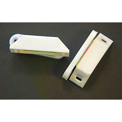 Image for Strong Magnetic Catch - White - 2 Pack from StoreName