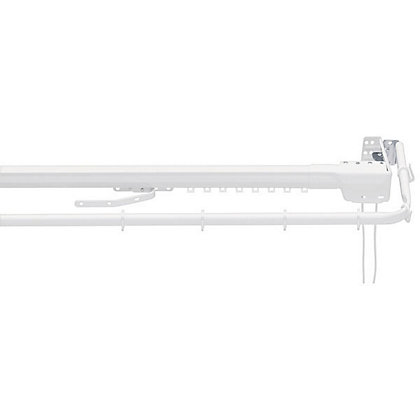 Image for Extendable Metal Curtain Track And Valance Rail - 1.75m from StoreName