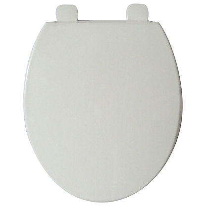 Image for White Value Slim Toilet Seat from StoreName