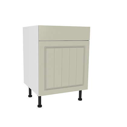 Image for Simply Hygena Chesham - Cream - 600mm Premium Drawer Line Base Unit from StoreName