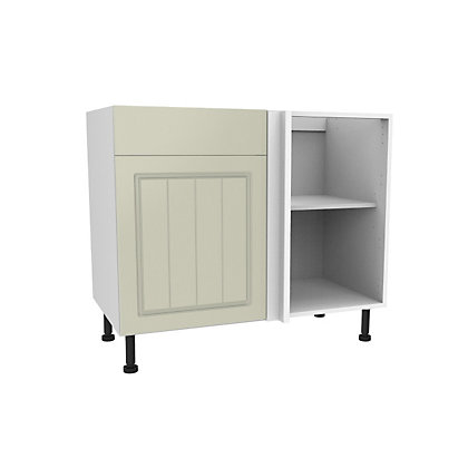 Image for Simply Hygena Chesham - Cream - 1000m Dummy Drawer Line Corner Base Unit from StoreName