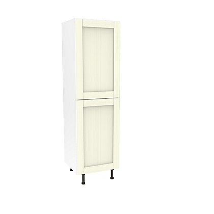 Image for Simply Hygena Southfield - Ivory - 600mm Larder / 50:50 Fridge Freezer Housing from StoreName