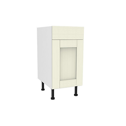 Image for Simply Hygena Southfield - Ivory - 400mm Standard Drawer Line Base Unit from StoreName