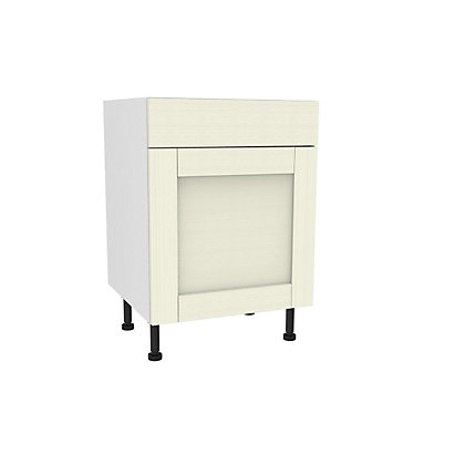 Image for Simply Hygena Southfield - Ivory - 600mm Standard Drawer Line Base Unit from StoreName