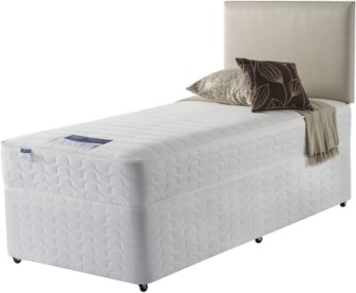 Image of Silentnight Daisy Miracoil Beige Non Storage Single Divan