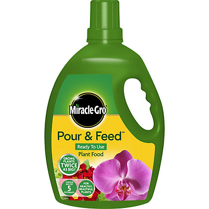 Image for Miracle-Gro Pour & Feed Ready To Use Plant Food - 3L from StoreName