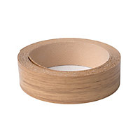 Iron On Edging Strip - Oak - 19mm