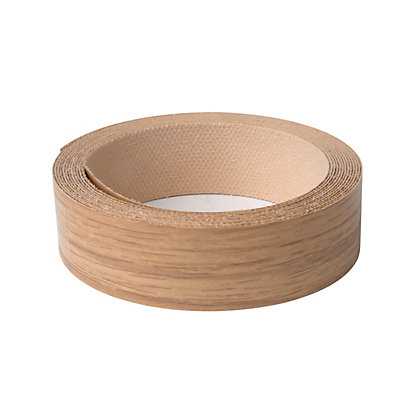Image for Iron On Edging Strip - Oak - 19mm from StoreName