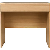 Hygena Harpur Oak 1 Draw Desk/Dresser