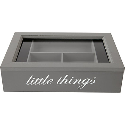 Image for Grey Little Things Box - French Grey from StoreName