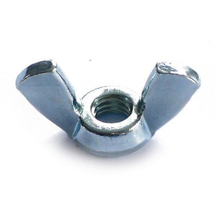 Image for Wing Nut - Bright Zinc Plated - M6 - 5 Pack from StoreName