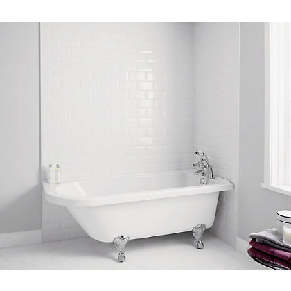 Image for Traditional Shower Bath - Right Hand from StoreName