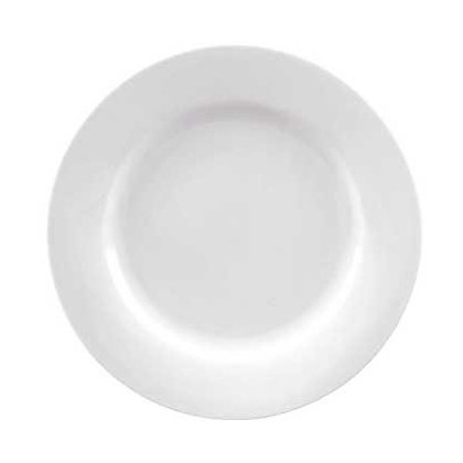 Image for Porcelain Dinner Plate - White from StoreName