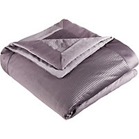 Pleated Satin Throw