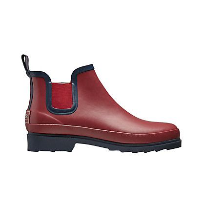 Image for Briers Chelsea Boots in Claret and Navy - Size 5 from StoreName