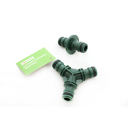 Image for 2 & 3 Way Hose Connector - Multi Pack from StoreName
