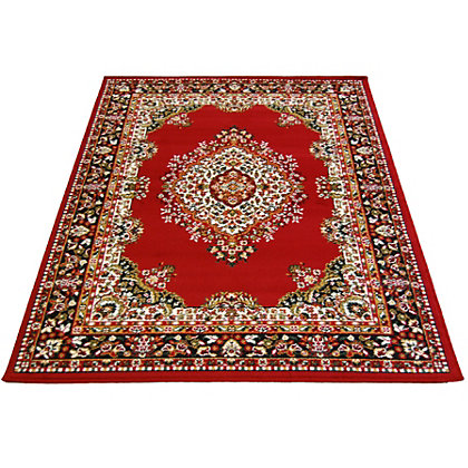 Image for Maestro Traditional Rug Red - 120 x 170cm from StoreName
